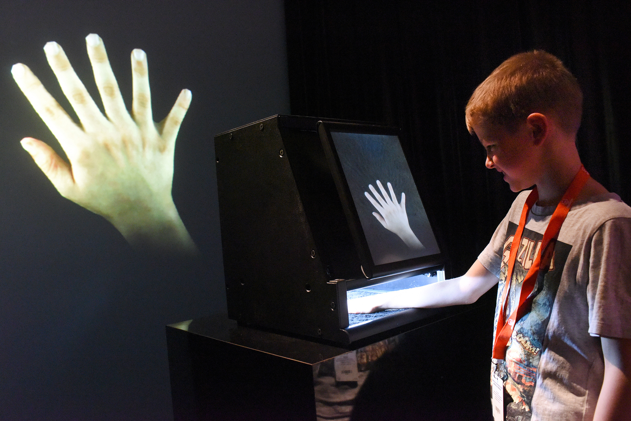 Augmented Hand Series Interactive Art By Golan Levin And