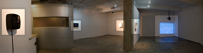 Solo exhibition at bitforms gallery